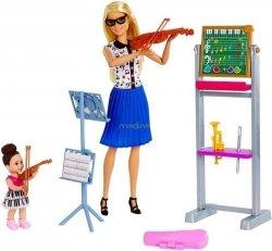 Lalka Barbie Nauczycielka Muzyki Mattel FXP18