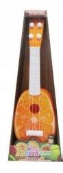 Gitara Ukulele z Owocem Pomarańcza