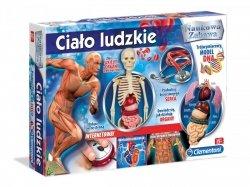 Ciało ludzkie Zestaw naukowy Clementoni 60249