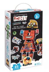 Puzzle Kreatywne Roboty 65 el. CzuCzu 49129
