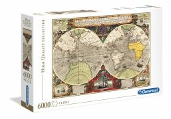 Puzzle HQ Antyczna Mapa Morska 6000 el. Clementoni 36526