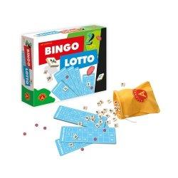 Gra Loteryjna 2w1 Bingo Lotto Alexander 1381