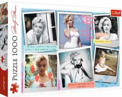 Puzzle Fotografie Marilyn Monroe Kolaż 1000 el. Trefl 10529