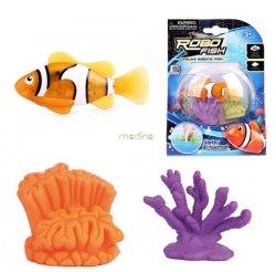 Robofish Pływające Rybki tropikalne + 2 koralowce Zuru TM Toys 2538