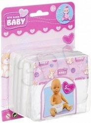 Pieluszki pampersy dla lalki New Born Baby Simba 5561906