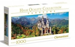Puzzle Neuschwanstein 1000 el. Clememtoni 39438