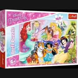 Puzzle Księżniczki Disneya i Przyjaciele 160 el. Trefl 15364