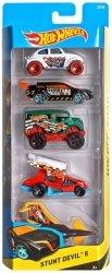 Zestaw 5 samochodzików Hot Wheels Mattel 1806