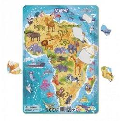Puzzle Ramkowe Afryka 53 el. Dodo 300175