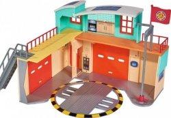 Strażak Sam Stacja ratunkowa z figurką Remiza Simba 9258282