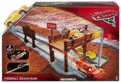 Zestaw torów Wyścig na plaży Auta 3 Mattel DVT46
