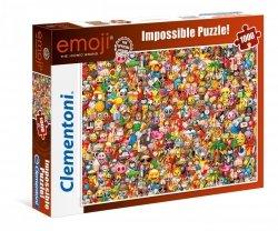 Puzzle Emotki Emoji 1000 el. Clementoni 39388