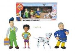 Strażak Sam Zestaw 4 figurek Simba 9251065