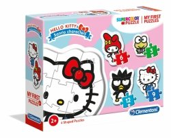 Moje Pierwsze Puzzle Hello Kitty 3/6/9/12 el. Clementoni 20818