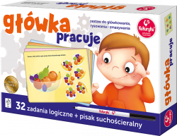 Zestaw Łamigłówek Główka Pracuje Kukuryku Adamigo 56396
