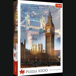 Puzzle Londyn o Świcie 1000 el. Trefl 10395