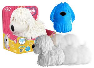 Mopik Zabawny Psiak Piesek Interaktywny z Miękkiego Elastycznego Materiału Epee