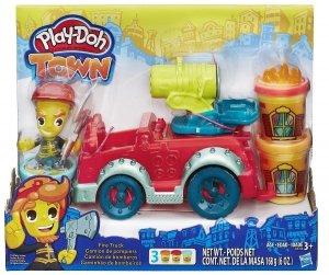Ciastolina Wóz strażacki Play-Doh Town Hasbro B3416