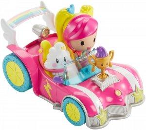Pojazd z figurką Barbie w świecie gier Mattel DTW18