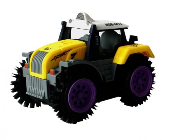 Przewrotka Traktor 10 cm na Baterie