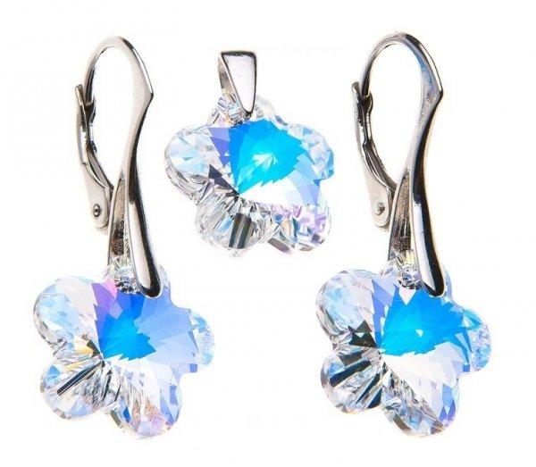 kolczyki Swarovski Crystal AB Swarovski Elements