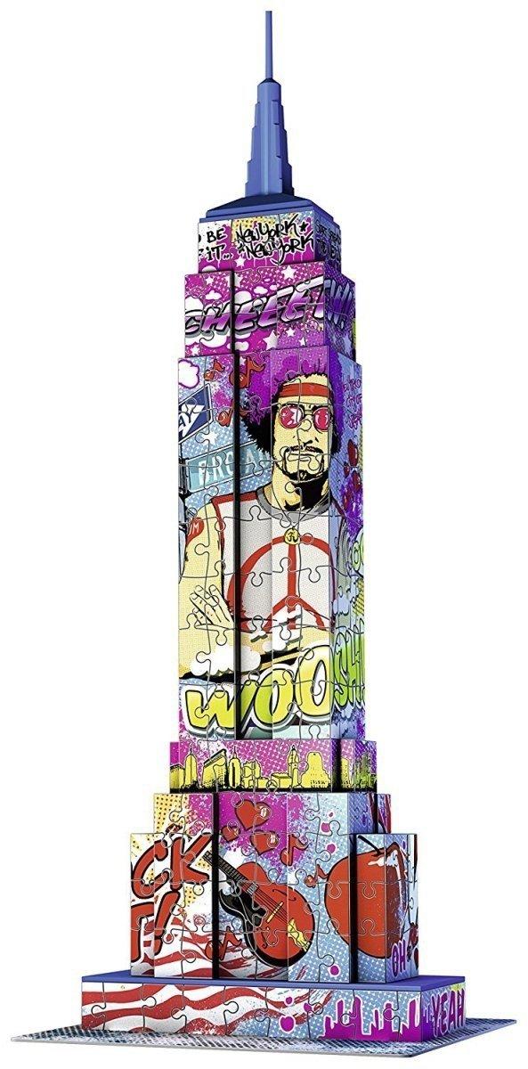 Puzzle 3D Empire State Building Pop Art 216 el. Ravensburger 125999