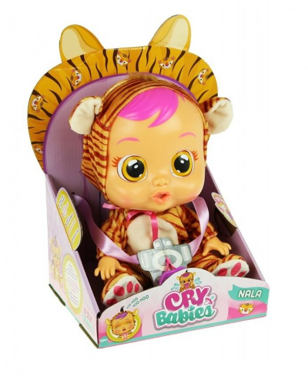 Cry Babies Płaczący Bobas Lala Nala Tygrysek
