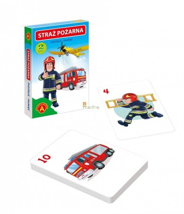 Karty 2w1 Piotruś Pamięć Straż Pożarna Alexander 2611