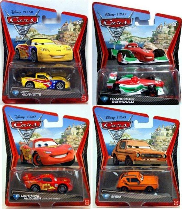 małe autka Cars Mattel