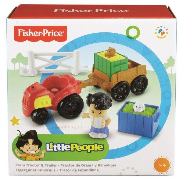 Traktor z Przyczepą Little People