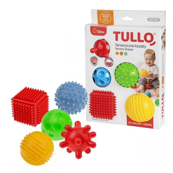 Piłeczki Sensoryczne 5 szt. AM Zabawki 420A