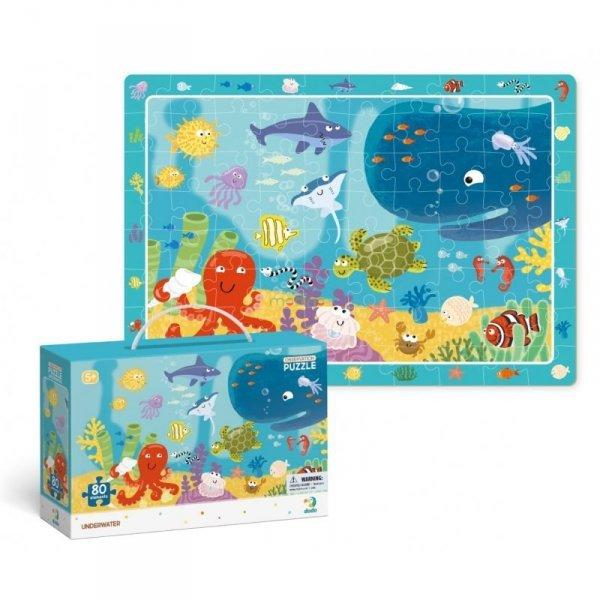 Puzzle Obserwacyjne Ocean 80 el. Dodo 300134