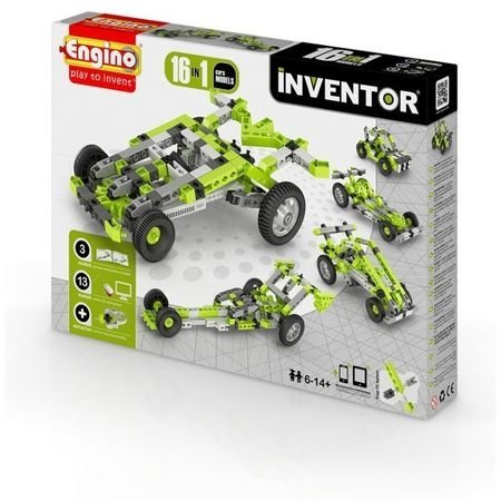 Klocki konstrukcyjne Engino Inventor 16w1 Samochody Engino Formatex 1631