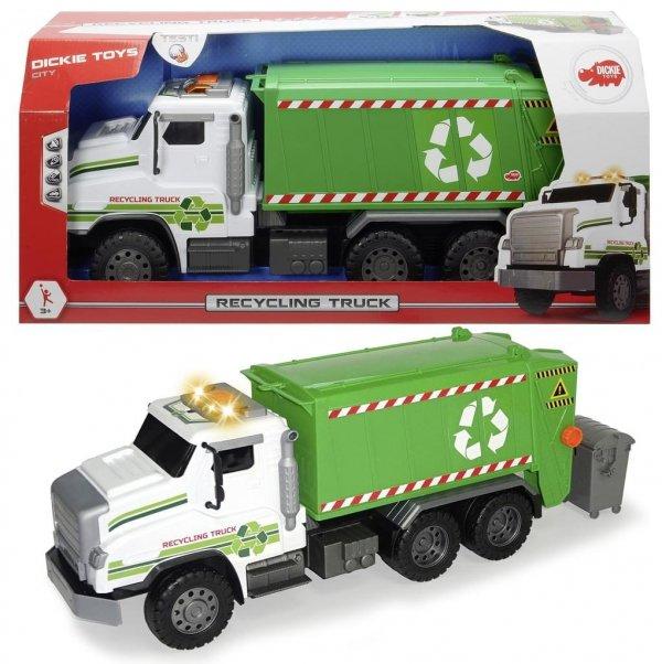 Zabawka Śmieciarka Wielki Wóz Recyklingowy 55 cm Dickie