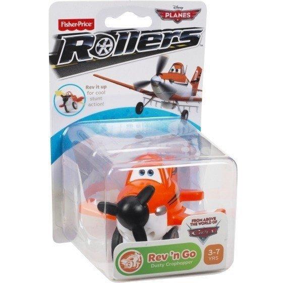 Samoloty Pociągnij i jedź zabawki z bajki Samoloty Planes Fisher Price Y5595