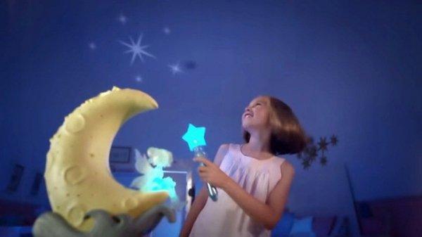 gra z projektorem dla dziewczynek