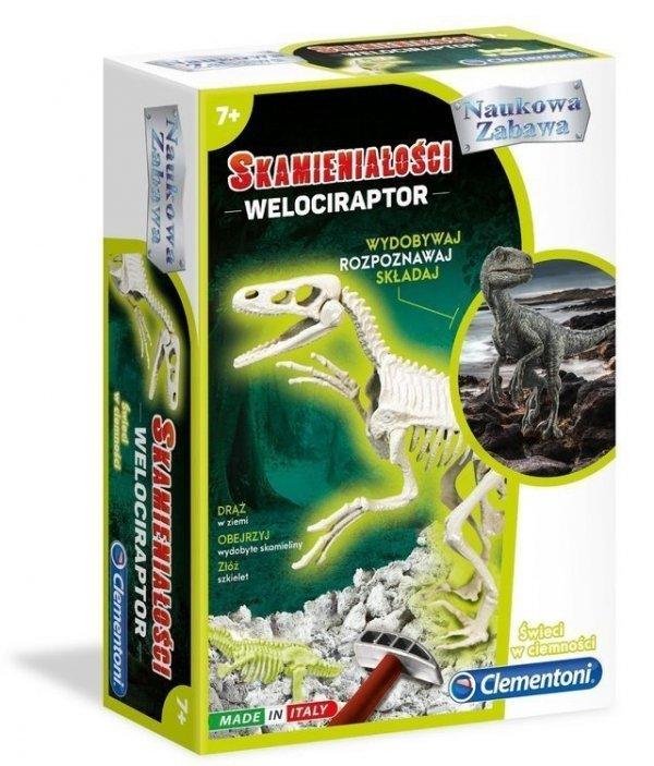 Zabawka Skamieniałości Welociraptor Clementoni