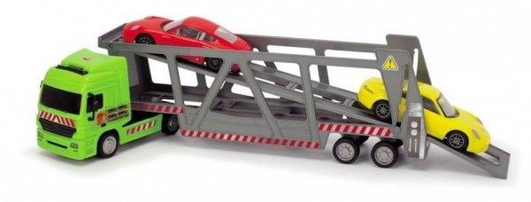 auto ciężarowe laweta z 2 samochodami porsche dickie city 3747005