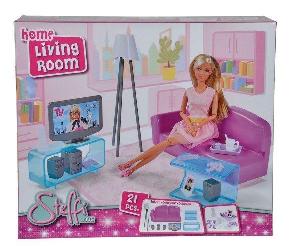 sklep z zabawkami modino.pl tanie zabawki lalki i akcesoria pokoje domki meble steffi love salon