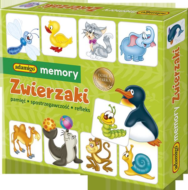 Memory Zwierzaki Adamigo 00737