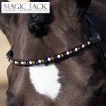 Wkładka magnetyczna do naczółka Magic Tack - white-mango-navy