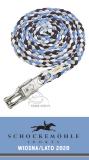 Uwiąz z karabińczykiem bezpiecznym SS20 - Schockemohle - moonlight blue/sapphire