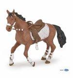 Figurka WINTER RIDING GIRL HORSE - PAPO