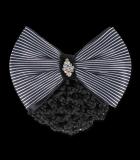 Siatka na włosy z kokardą - Waldhausen