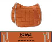 Potnik Eskadron BIG SQUARE COTTON - PLATINUM 2019/2020 - vermillion orange