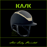 Kask Star Lady Painted - KASK - granat/piaskowy - roz. 55-56