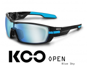 Okulary KOO Open - Blue Sky - black/light blue