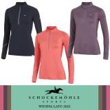 Koszulka damska funkcyjna PAGE STYLE wiosna-lato 2021 - Schockemohle