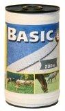 Taśma do ogrodzeń Corral BASIC 20mm - 200m - biała