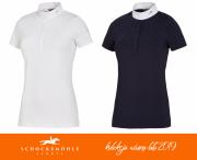 Koszulka konkursowa CHARLET damska wiosna-lato 2019 - Schockemohle